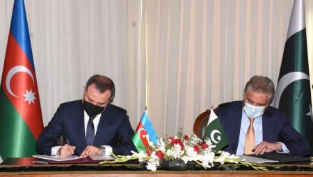 Azərbaycanla Pakistan arasında saziş imzalandı